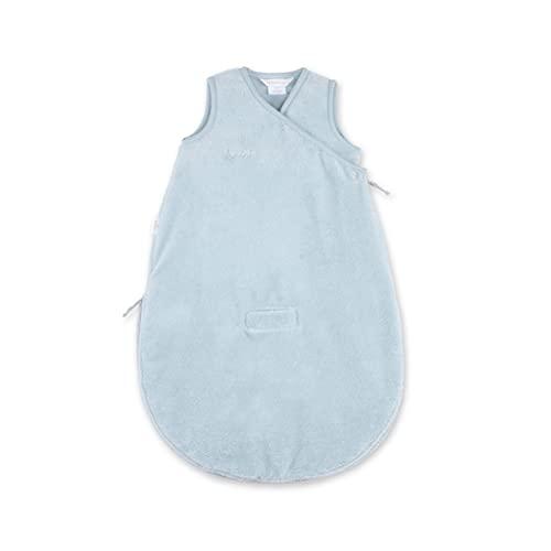 BEMINI Saco de dormir de bambú de 0-3 meses, color gris azulado