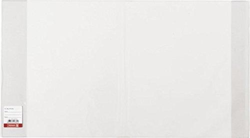 papieto Buchschoner/Buchumschlag (transparent/extrem stark) HÖHE X LÄNGE FREI WÄHLBAR (26 x 54,5 cm)