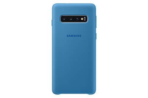 Silicone Cover für Galaxy S10 Blau