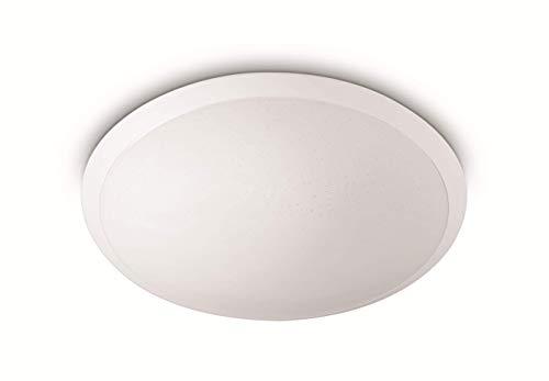 Philips MyLiving CAVANAL plafón LED blanco, luz blanca cálida 2700K, 18W 230V