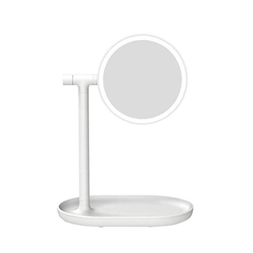 Vanity Mirror With Lights For Makeup, Dressing Table Mirror With Led Lights Desktop Storage Perfect Birthday Present For Girl Kids, Suitable for Various Occasions