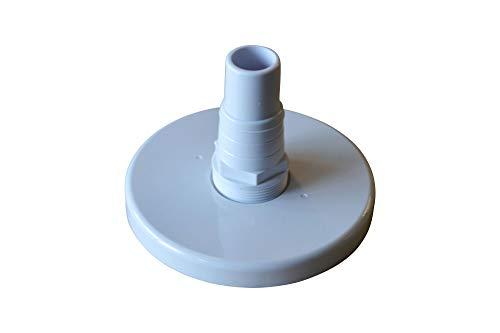 SPIRATO Saugplatte für Skimmer Ø 158 mm mit 32/38 mm Schlauchanschluss