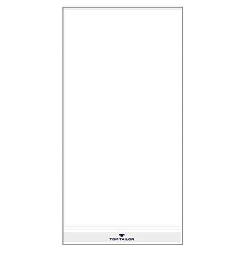 TOM TAILOR Handtuch-Set 3-teilig weiß 2 x Handtuch + 1 x Duschtuch UVP 44,97 €