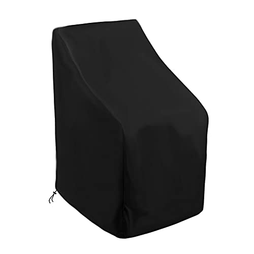 Cubierta A Prueba De Polvo Silla de protección al Aire Libre, Cubierta de Muebles de Patio, Tela de Oxford, Bolsa De Almacenamiento De Cubiertas Antipolvo (Color : 420D)
