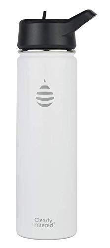Insulated Stainless Steel Water Bottles (White)