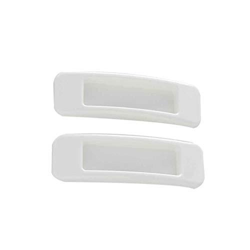 censhaorme 2pcs / set autoadhesivas de plástico para ventana corrediza Tire la manija de puerta de armario armario de la cocina cajón Perillas