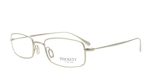 Hackett - Gafas de titanio HET 1003 80 gafas RX Marcos + Cas