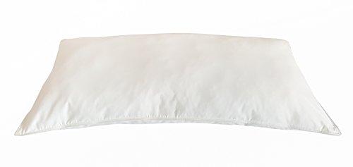 TM Maxx Bettdecke oder Kopfkissen Öko 100% Federdecke • Decke oder Kissen Pure Nature Weiß-Naturfarbe von Wendre (40 x 80 cm)