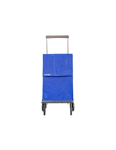 Rolser Carro Plegamatic MF 2 Ruedas Plegable - Azul