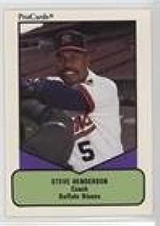 Steve Henderson (Baseball Card) 1990 ProCards AAA Future Stars - [Base] #506