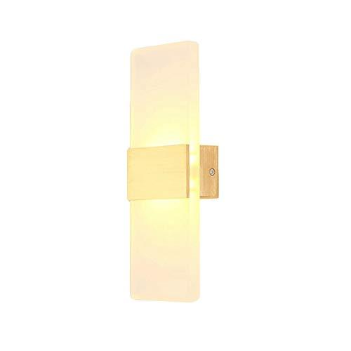 Kreative Retro industrielle Art-Wandleuchten Moderne LED Wandleuchte Leuchte Lampen 6 Watt Warmweiß 3000 Karat Auf und Ab Innenputz Wandleuchten for Wohnzimmer Schlafzimmer Flur Wintergarten Home Room