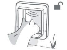 SureFlap Mikrochip Katzenklappe - 8