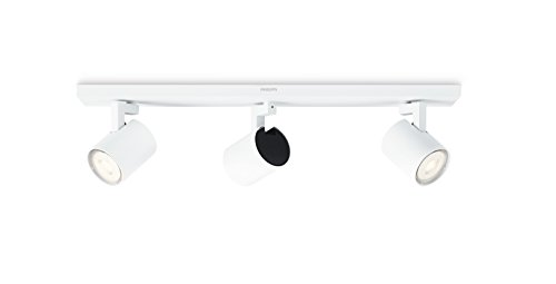 Philips 5309331P0, myLiving LED Spot Runner 3flg, 690lm, Weiß, Metall, 3.5 watts, Integriert, 9 x 48 x 10.9 cm