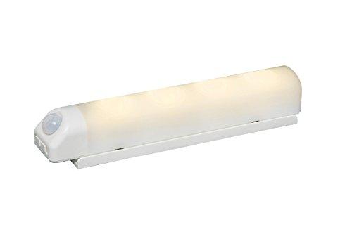 アイリスオーヤマ 乾電池式屋内センサーライト ウォールタイプ 電球色相当 BSL40WL-W