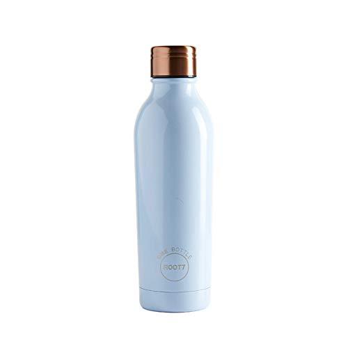 Root7 Bottle | Stainless Steel Water Bottle | Duck Egg Blue 500 ml | Double...