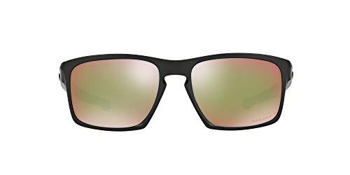 Oakley Sliver 926238 Gafas de sol, Polished Black, 57 para Hombre