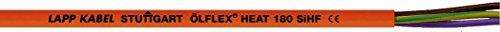 LappKabel LFLEX Wärme–Kabel SILIKON 180SIHF 2X 1mm² ohne gn/ge Rot Braun 500m