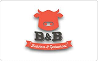 B&B Butchers & Restaurant - Houston Gift Card