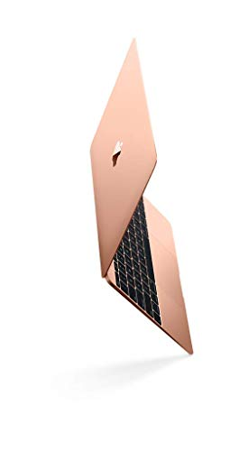 Apple 12' MacBook, Retina, 1.3GHz Intel Core i5 Dual Core Processor, 8GB RAM, 512GB SSD, Mac OS, Rose Gold (Newest Version) (Renewed)