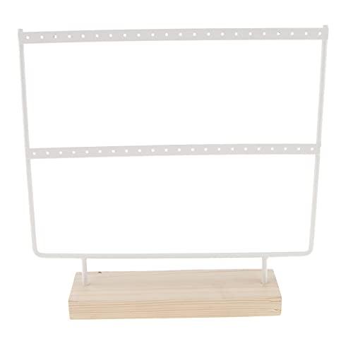 JIEGEGE Jewelry Box, Pendiente de Almacenamiento Pantalla de Almacenamiento, Mabador de Gancho y Estante para el hogar, Pendientes, (Color : Type2)