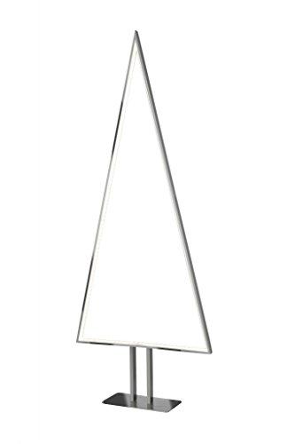 Sompex Designleuchte LED Weihnachtsbaum Stehleuchte Pine   Aluminium   Höhe 100cm   Dimmbar