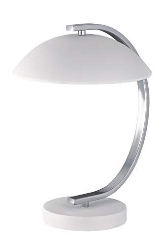 Retro Lámpara de mesa blanco mate