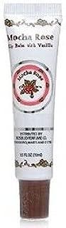 Rosebud Perfume Company Mocha Rose Lip Balm Tube, 0.5 oz