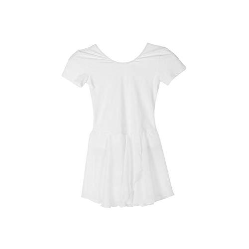 Hopereo Gymnastik Trikot Ballett Kleid Trikot Tutu Tanzabnutzung Kostüme Ballett Trikots Für Mädchen Ballerina Kleidung Weiß 140 Vereinigte Staaten