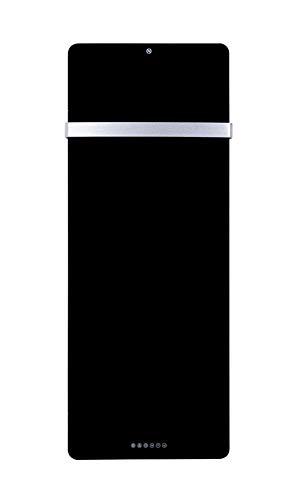 Miweba Heidenfeld Infrarot Handtuchheizung - LED-Display - App-Kompatibel - 10 Jahre Garantie - Deutsche Qualitätsmarke - BV & GS Prüfzertifikat - 850 Watt - Bis 20 m² (Schwarz)