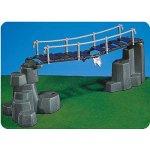 7271 - PLAYMOBIL - Hängebrücke mit Felsen grau