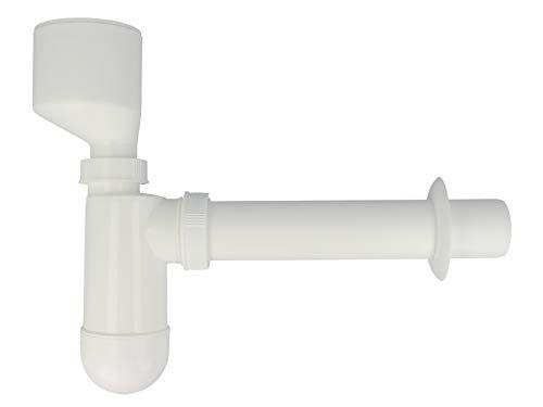 profizeug24® Urinal Flaschen Ablauf Urinal Siphon Absaug Sifon DN 50 x 40
