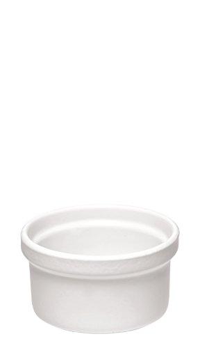 Emile Henry 111028 Ramequin Coloris Blanc Ø 9,3 cm 0,2 L