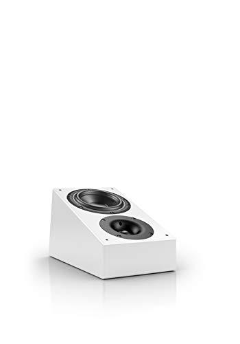 Nubert nuLine RS-54 Dolby Atmos Lautsprecher | Aufsatzlautsprecher geeignet für Dolby Atmos & Auro 3D| Passive Surroundbox mit 2 Wege Technik Made in Germany | Kompaktlautsprecher Weiß | 1 Stück