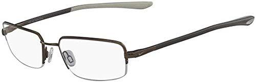 Nike Herren 4287 212 51 Brillengestelle, Braun (Walnut)