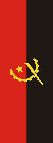 magFlags Drapeau Angola | Portrait Flag | 6m² | 400x150cm