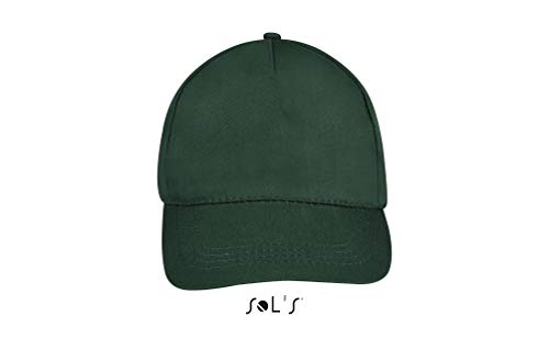 SOL´S Five Panel Cap Buzz, Größe:One Size, Farbe:Forest Green