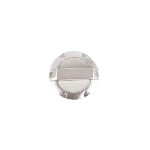 Rugged Ridge 11430.02 Brushed Billet Aluminum Brake Master Cylinder Cap for Jeep JK Wrangler