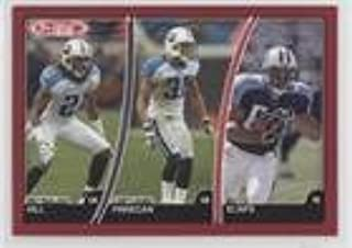Reynaldo Hill; Cortland Finnegan; Bo Scaife (Football Card) 2007 Topps Total - [Base] - Red #93