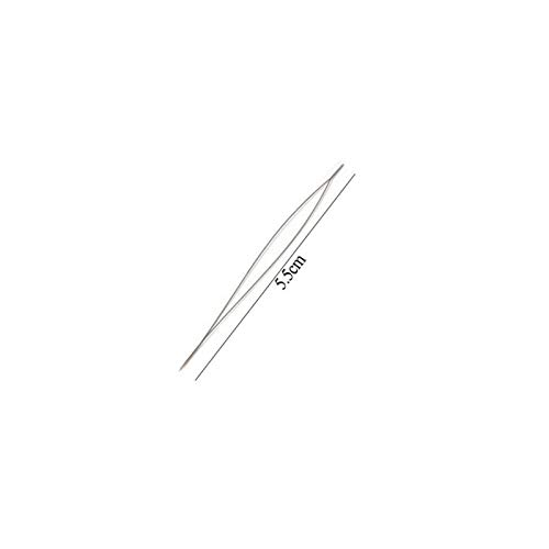 LQHZ Aguja Moldeada Abrir la Perla Aguja Agujas Agujas Agujas Suministros para Hacer Beads Pines Handmade Accesorios de Joyería Herramientas 1 unids Beading Agujas Mano de Obra Exquisita y práctica