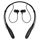 SoundPEATS Bluetooth Headset Neckband Sports wireless Headphones Stereo Earbuds with Mic (Up to 5 Hours Play Time, Bluetooth 4.1, CSR 8645+aptX, Noise Cancelling, Sweatproof)