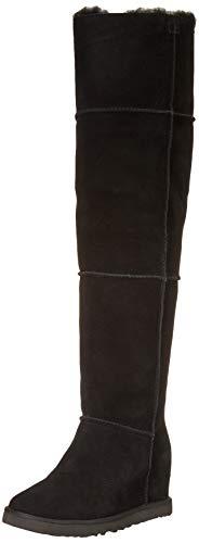 UGG Classic Femme Otk Wedge Boot, Black, Size 7.5