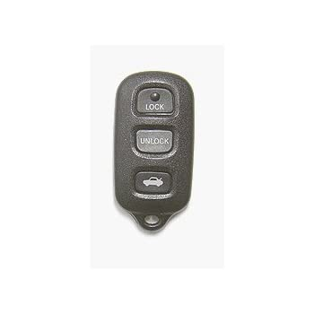 Keyless Entry Remote Fob Clicker for 2000 2001 2002 2003 2004 2005 2006 Toyota Camry