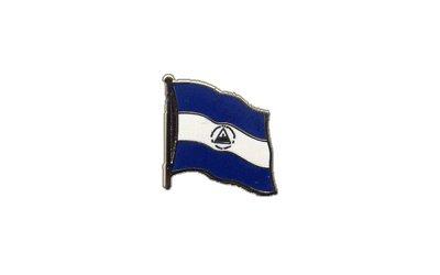 Flaggen-Pin/Anstecker Nicaragua vergoldet