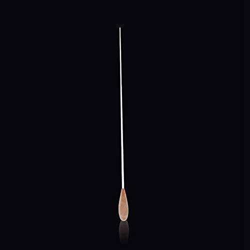 Bacchetta da direttore d'orchestra, 38,1 cm, con manico in legno di pero, leggera, per la direzione di gruppi musicali per concerti sinfonici corali