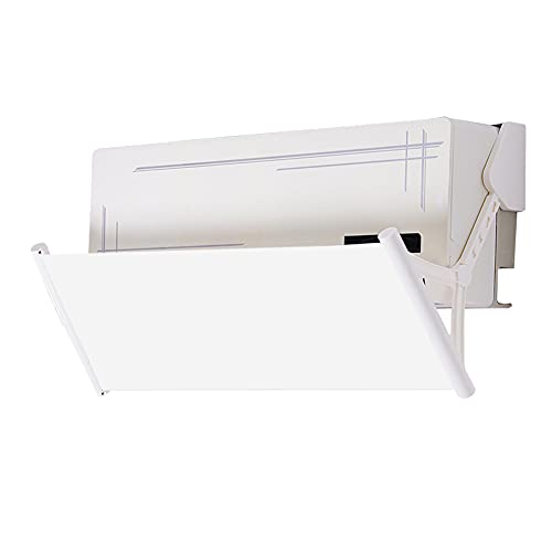 2020年改良版 エアコン風よけカバー エアコン用風よけ板 多角度調整可能 多通気孔 均一導風 冷房暖房通用 ...