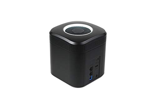 Amber AM1211-1 All-in-One Smart Storage with 1TB HDDx2 & Wireless AC2600 Router Network Attached Storage