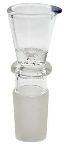 budawi-Headshop Chillum Kopf, GLAS-Steckkopf-18.8er-Flutsch, Zylinder-zubehör, Stecksysteme Tabakkopf Glaskopf