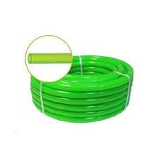 Manguera Verde Transparente 25 Metros (15mm) AQUALATEX