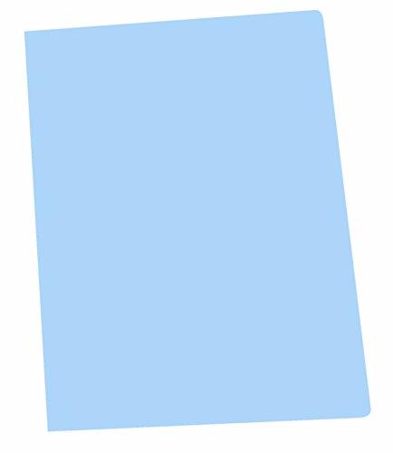 Elba Gio - Pack de 50 subcarpetas simples, A4, color azul