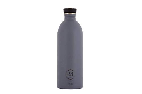 24Bottles Urban Trinkflasche Unisex - Erwachsene Formal Grey 1000 ml